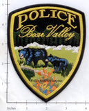 California - Bear Valley Police Dept Patch v2