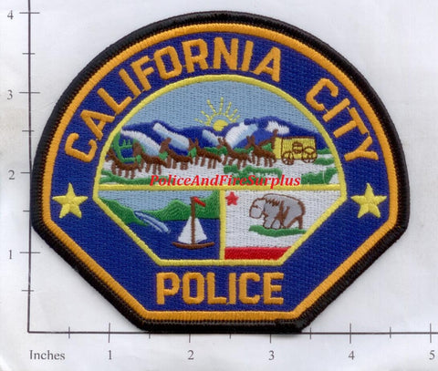 California - California City Police Dept Patch v1