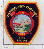 California - Carmel By The Sea Fire Dept Patch v2