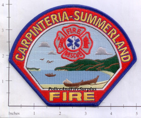 California - Carpinteria - Summerland Fire Patch