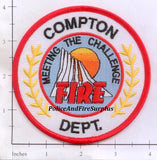 California - Compton Fire Dept Patch
