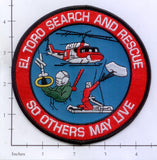 California - El Toro Search and Rescue Fire Dept Patch