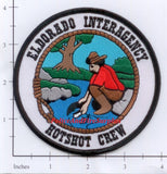 California - Eldorado Interagency Hotshot Crew Fire Dept Patch