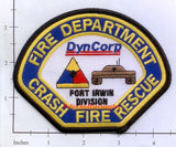 California - Fort Irwin DynCorp Crash Fire Rescue Fire Patch
