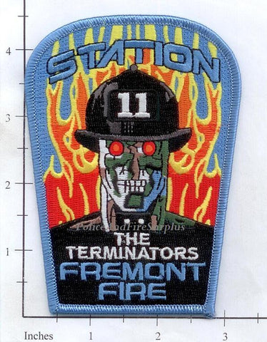 California - Fremont Station 11 Fire Dept Patch