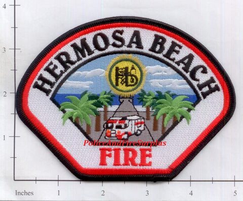 California - Hermosa Beach Fire Dept Patch