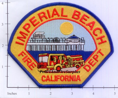 California - Imperial Beach Fire Dept Patch