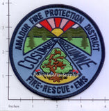 California - Amador Fire Protection District Patch