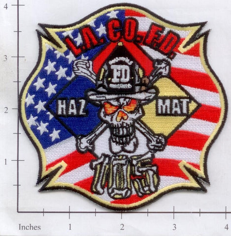 California - Los Angeles County Haz Mat 105 Fire Dept Patch v2