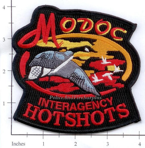 California - Modoc Interagency Hotshots Fire Patch v1