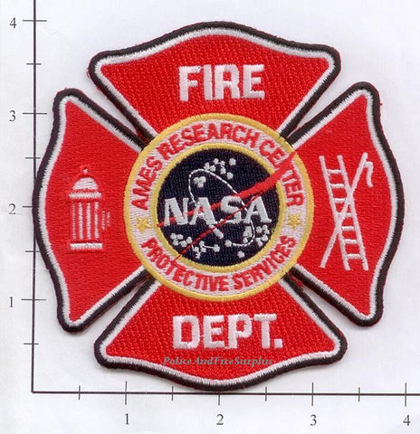 California - NASA Ames Research Center Protective Services Fire Dept Patch