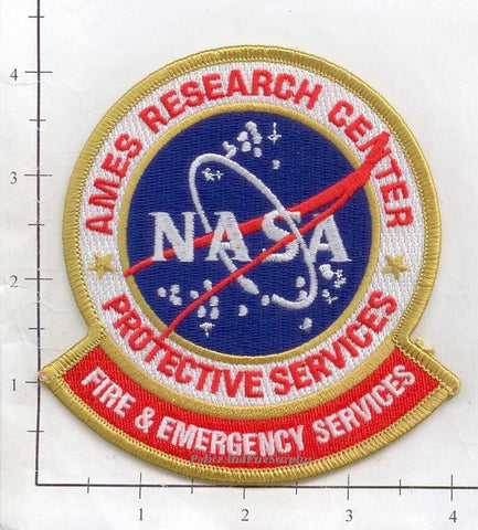 California - NASA Ames Research Center Protective Services Patch (002) R