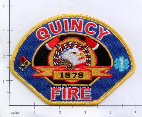 California - Quincy Fire Dept Patch