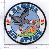California - Ramona Air Attack Fire Dept Patch