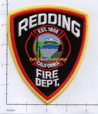 California - Redding Fire Dept Patch