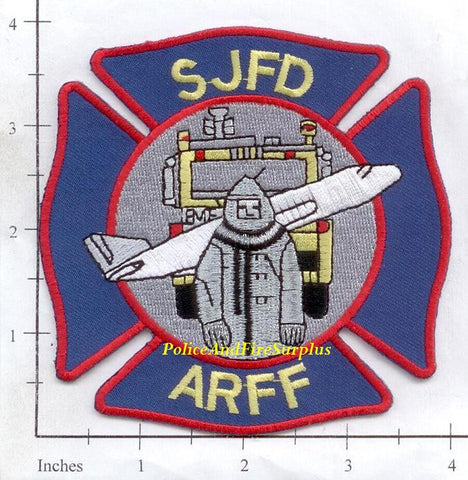 California - San Jose ARFF Fire Dept Patch