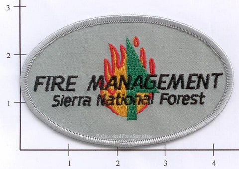 California - Sierra National Forest Fire Management Patch v2