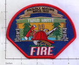 California - Twain Harte Fire Dept Patch