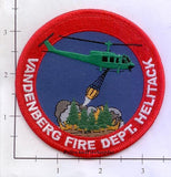 California - Vandenberg Fire Dept Helitack Patch v1