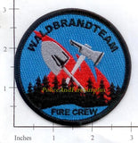 Germany - Waldbrandt Team Fire Crew Fire Dept Patch