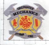 Canada - Ottawa Ontario Mechanics Fire Dept Patch