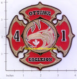 Canada - Ottawa Ontario Station 41 Fire Dept Patch