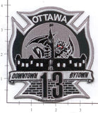 Canada - Ottawa Ontario Station 13 Fire Dept Patch