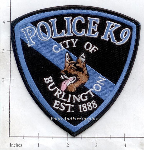 Colorado - Burlington Police Dept K-9 Patch
