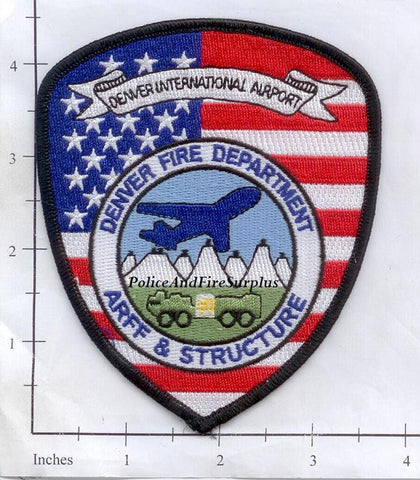 Colorado - Denver International Airport Fire Dept Patch
