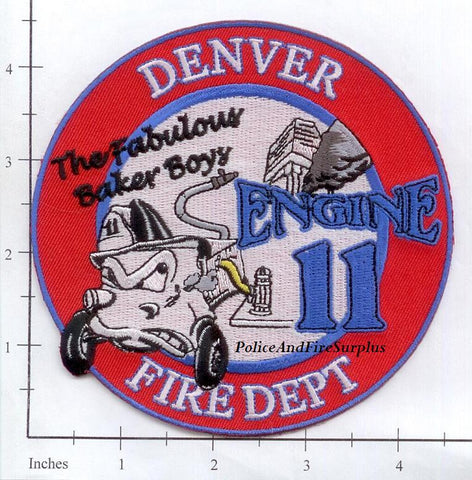Colorado - Denver Engine 11 Fire Dept Patch