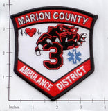 Missouri - Marion County Ambulance District 3 Fire Dept Patch