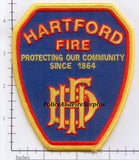 Connecticut - Hartford Fire Dept Patch v2