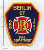 Connecticut - Berlin Fire Dept Patch v1