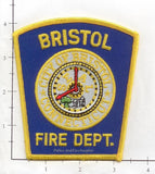 Connecticut - Bristol Fire Dept Patch