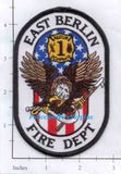 Connecticut - East Berlin Rescue 1 Fire Dept Patch