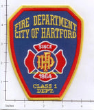 Connecticut - Hartford Fire Dept Patch v1