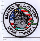 Connecticut - Hartford Engine  2 Fire Dept Patch v3