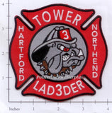 Connecticut - Hartford Ladder  3 Fire Dept Patch