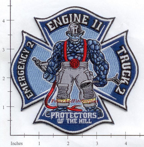 Connecticut - New Haven Fire Dept Engine 11 Ladder 2 Emergency 2 Fire Dept Patch v1