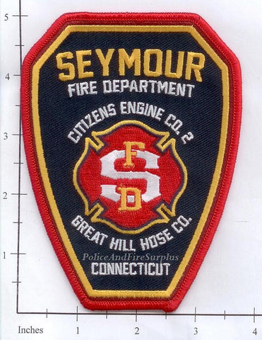 Connecticut - Seymour Engine 2 Fire Dept Patch v1