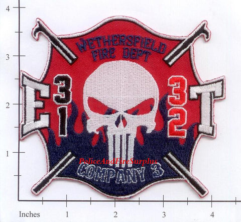 Connecticut - Wethersfield Fire Dept Engine 31 Ladder 32 Fire Dept Patch