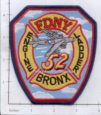 New York City Engine  52 Ladder 52 Fire Dept Patch v11
