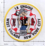 New York City Engine  18 Fire Patch v14 Popeye