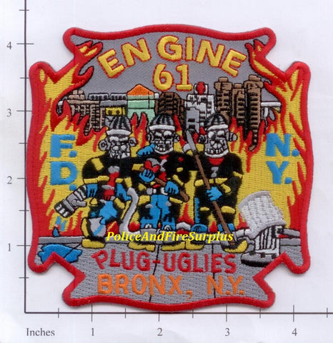 New York City Engine  61 Fire Patch v3