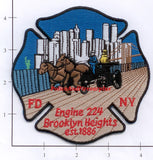 New York City Engine 224 Fire Dept Patch v5