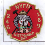 New York City Engine 246 Ladder 169 Fire Patch v6