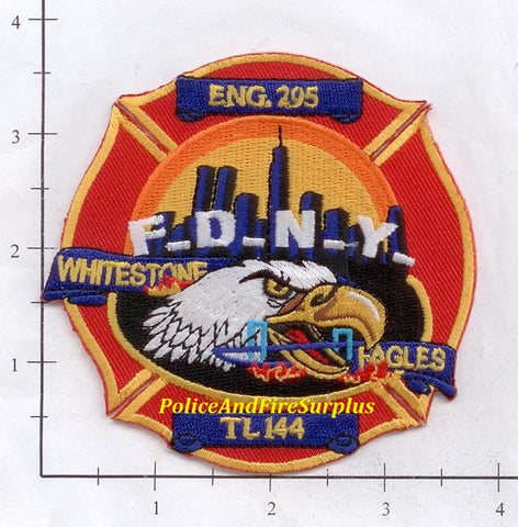 New York City Engine 295 Ladder 144 Fire Patch v5