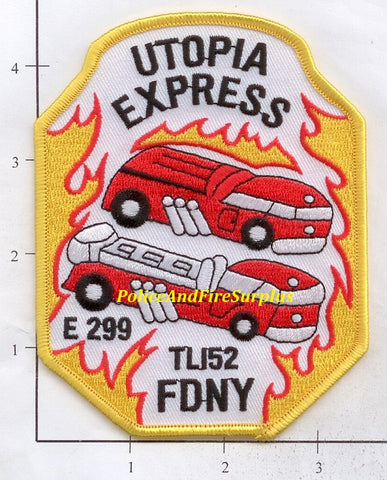 New York City Engine 299 Ladder 152 Fire Patch v3