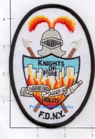 New York City Engine 301 Ladder 150 Fire Patch v4
