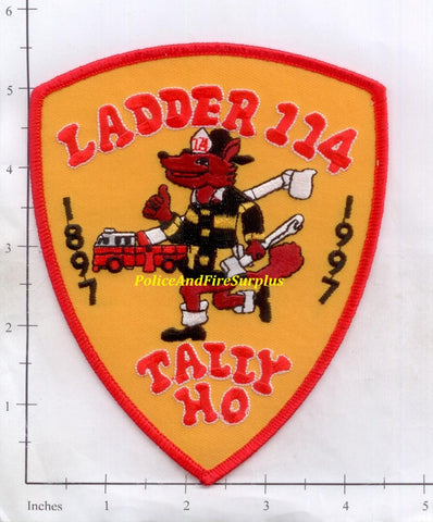 New York City Ladder 114 Fire Patch v9